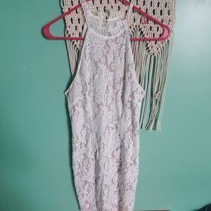 Sans souci white lace dress
